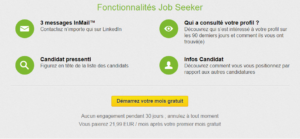 Le consultant qui cherche un travail